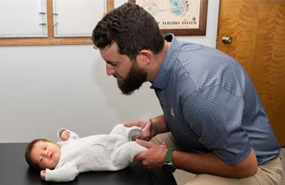 Chiropractor Thomasville NC Patrick Jackson Children