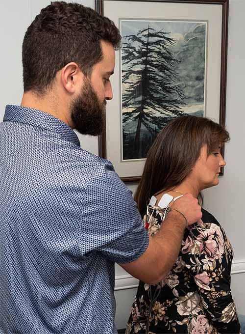 Chiropractor Thomasville NC Patrick Jackson Exam